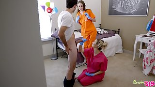 Horny nurse Chloe Temple is actually eager to ride strong untidy cock