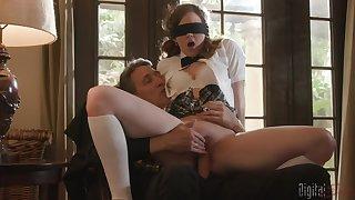 Blindfolded teen Devon Green did not prophesy a giant Hawkshaw
